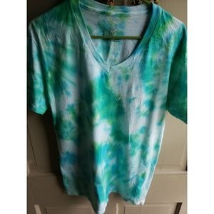 Men's Hanes Hand dyed T shirt - tiedye